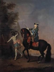 мужик на лошади